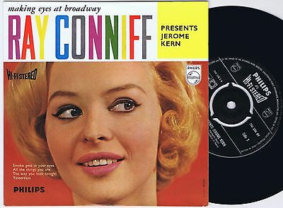 RAY CONNIFF & SINGERS Young At Heart Dutch EP 45PS 196os  Philips Hi
