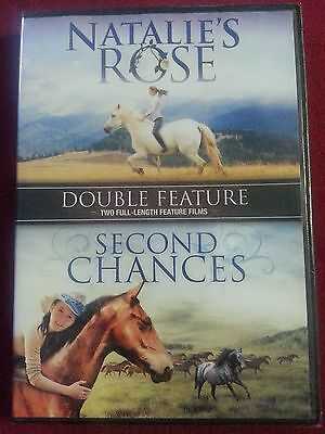 Natalie's Rose AND Second Chances- TWO full-length feature films! BRAND NEW!