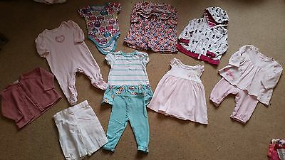 Baby Girl 3-6 Months Clothes Bundle - Tops / Dress / Cardigans / Jumpers - NEXT
