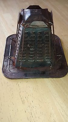 Vintage Tin, Metal Toaster for Campfire - 4 Slices. Fun for collection!