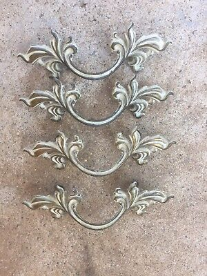 Vintage French Provincial Drawer Pulls Handles (4)