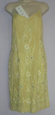 Ladies Size 16 Silk Cocktail Party Dress From Frank Usher (Dusk) New With Tag