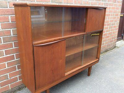 Mid Century Display Cabinet Drinks Cabinet