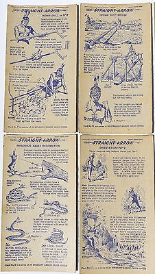National Biscuit Co Nabisco Shredded Wheat - Straignt Arrow Injun-uity 38 cards