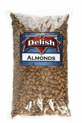 Gourmet Whole Raw Almonds by Its Delish