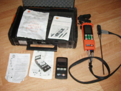 Testo 325M Combustion Analyzer with printer and case