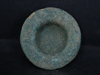 Ancient Glazed Bowl Islamic 1200 AD  No Reserve    #PT15681