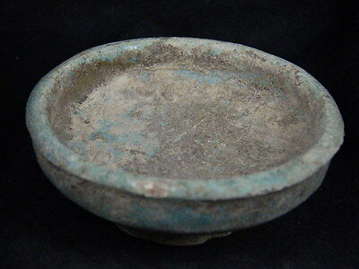 Ancient Glazed Bowl Islamic 1200 AD No Reserve   #PT15097