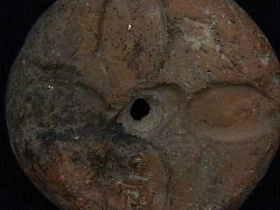 Ancient Teracotta Seal Bactrian 300 BC No Reserve   #TR127