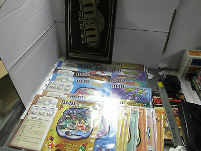 Willabee & Ward Patches M&m Patch Collection Recipe Cards Lot Of 19 With Binder