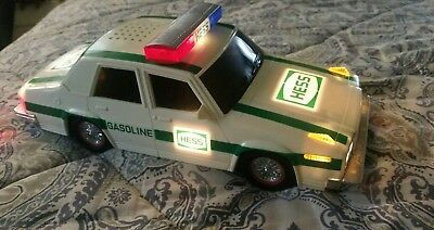 1993 HESS PATROL CAR with working sirens and lights.