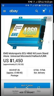 Ems motorsport Ecu fits all cars