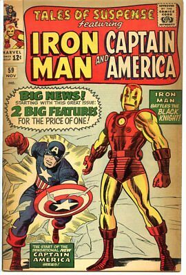 Tales of Suspense #59 1st Cap Solo Story 3.0