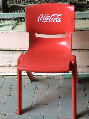 Retro Coca Cola Cafe Chair One Only