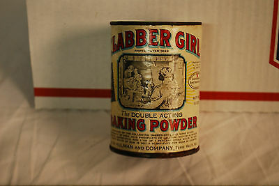Vintage Clabber Girl Baking Power Can