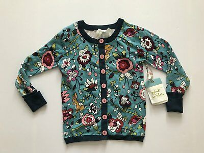 Matilda Jane Paint by numbers Central Park Cardigan size 6 NWT