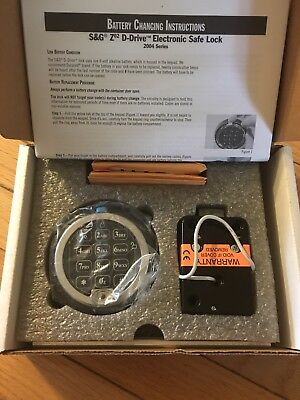 Sargent And Greenleaf S&G Z02 D-drive Safe Lock With Keypad And Spindle 2004-200