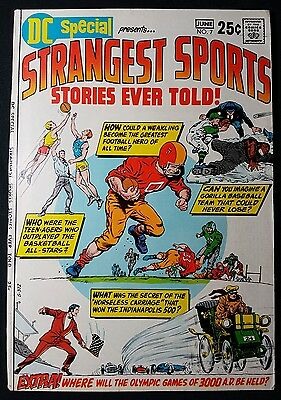 DC Special #7; quality photos.  Strangest sports stories.  (Apr-Jun 1970, DC)