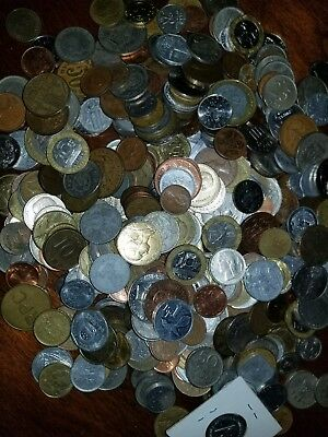 Unsearched Foreign Coin Lot! HALF POUND of World Coins!