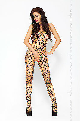 PASSION BS001 Luxury Super Soft Large Hole Fishnet Bodystocking