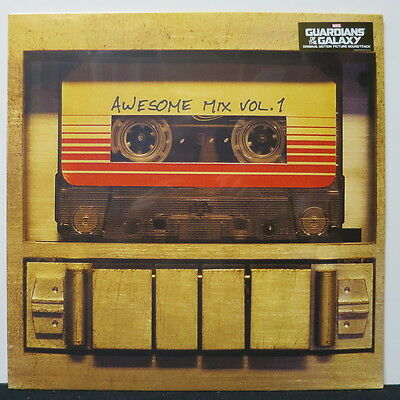 'GUARDIANS OF THE GALAXY: MIX TAPE' Soundtrack Vinyl LP NEW & SEALED