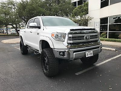 "2015 Toyota Tundra 1794 Edition Extended Crew Cab Pickup 4-Door LIFTED, CUSTOM, 6"" LIFT, BDS SKID PLATE, FOX SUSPENSION, CLEAN TRUCK!"