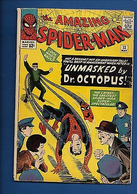 Amazing Spider-Man #12 3RD DOCTOR OCTOPUS KEY SILVER AGE MARVEL DITKO LEE