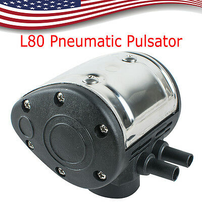 L80 Pneumatic Pulsator for Cow Milker Milking Machine Dairy Farm Cattle US SHIP!