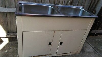 Laundry cabinet and sink used cheap aud picclick au for Cheap laundry room cabinets