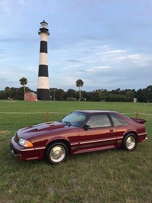 1989 Ford Mustang  1989 Mustang GT-25th Anniversary