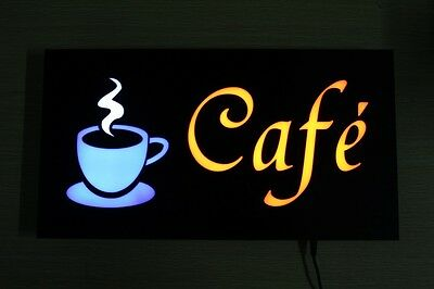 Fashion Coffee Advertising Cafe Display LED Sign Neon Light Sign Cafe Shop US-3G