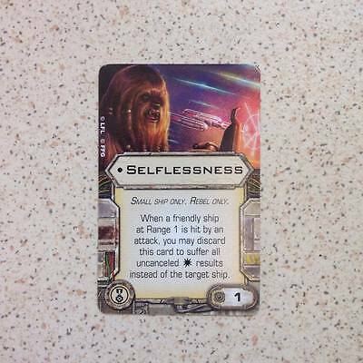 X-wing Miniatures Selflessness
