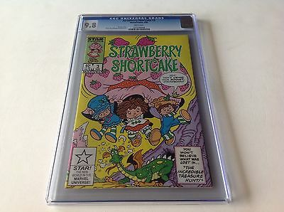 Strawberry Shortcake 3 Cgc 9.8 White Pages Star Comics Free Shipping
