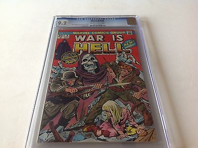 War Is Hell 9 Cgc 9.2 Intro Death Hard To Find High Grade1974 Free Shipping