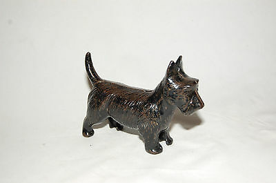 "Cast Iron ""scottie Standing"" Still Bank"