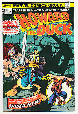 Howard The Duck No. 1 -  Marvel, 1976 First Issue - High Grade, One Owner