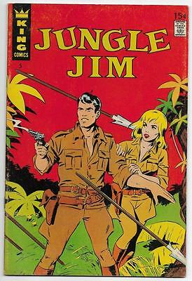Jungle Jim #5 FN/VF (Dec 1967, King Features)
