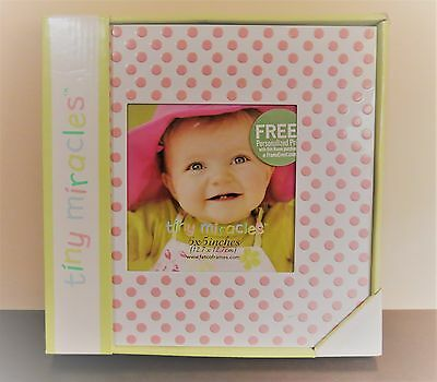 "It's a Girl!!!. ""Tiny Miracles"" Photo Frame. Brand New..."