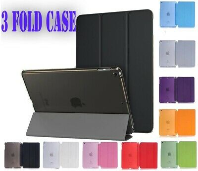 """Ultra Thin Magnetic Leather 3 Fold  Smart Case Cover Stand Apple iPad 9.7"""" 2017"""