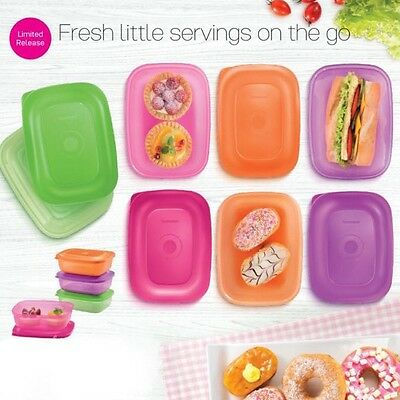 Tupperware Rectangular Server (Limited Edition) 4 X 500ml