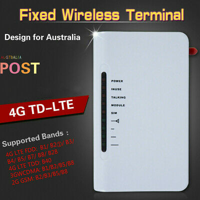 AU 4G TELEPHONE Call Phone Line Dialler GSM Wireless Fixed Terminal