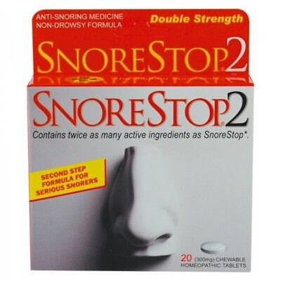 Stop Snoring with Snore Stop 2, Anti Snore tablets Sleeping aid to stop snoring,