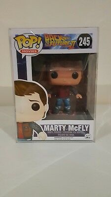 Marty Mcfly hoverboard pop vinyl