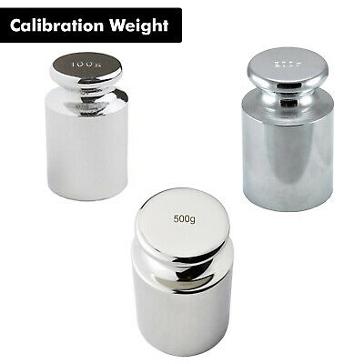 100g, 200g & 500g Precision Balance Calibration Weight for Digital Pocket Scale
