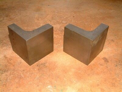 Pair of Precision Angle Plates 50 x 50mm