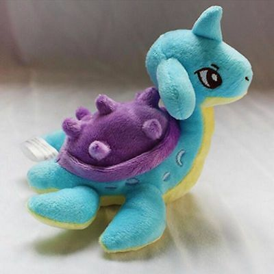 "6"" Pocket Monster Pokemon Lapras Soft Plush Stuffed Doll Toy Kids Christmas Gift"