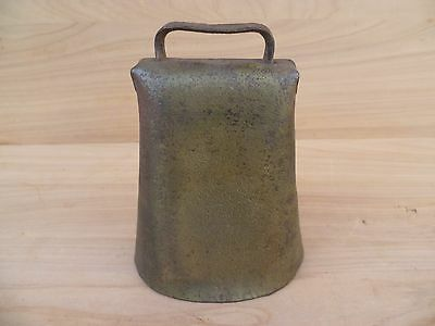 Antique Old Brass & Steel Cow, Goat, Sheep Bell, Old Bell (F527)