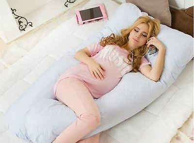 Comfort Total Body Full Support Pregnancy Maternity Pillow U Shape Choose Color