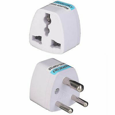 Universal Travel Outlet 3 Pin Converter Adapter South Africa India AC Power Plug
