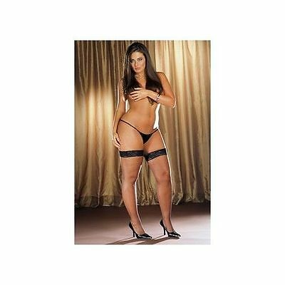 Dreamgirl Fishnet Stay Up Thigh High - Queen Size